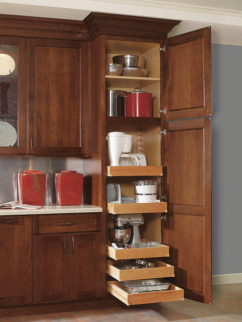 Decora Utility with Roll Trays - Kitchen Cabinetry - other metro - by MasterBrand Cabinets, Inc.