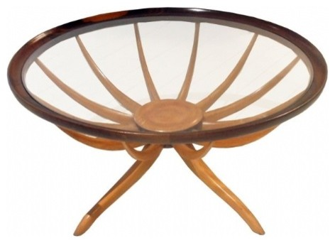 1960s Coffee Table by Scapinelli contemporary-coffee-tables