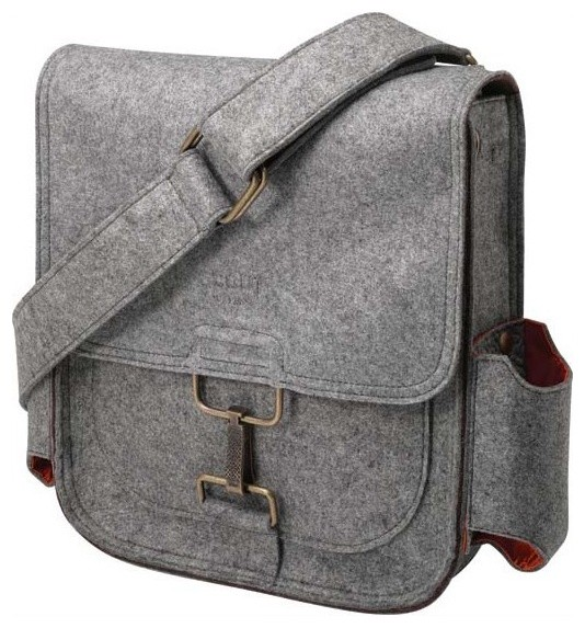 Petunia Pickle Bottom Journey Pack - Heathered Grey Compact modern-baby-and-kids