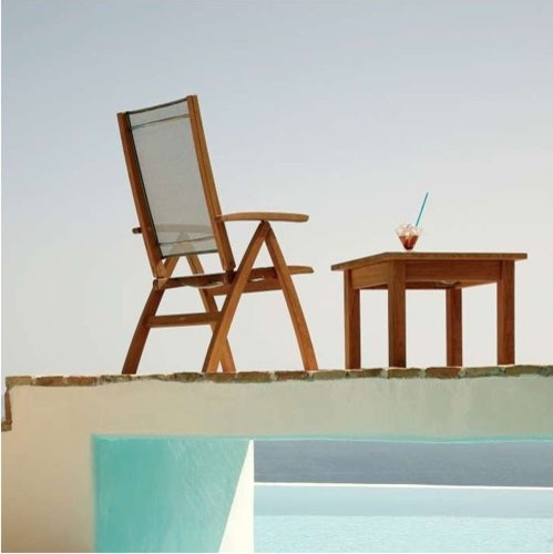Horizon Recliner and Colchester Side Table modern-outdoor-side-tables