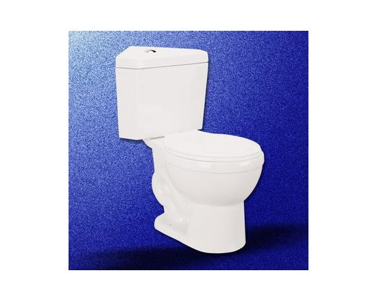 White China Corner Toilet Water Saver Dual Flush Rnd - The Corner Toilet Water Saver Dual Flush Round white comes with coordinating toilet seat. Manufactured from Grade A vitreous China, it offers high durability.