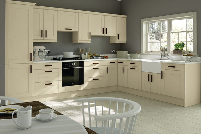 Trends  Washington Ivory  Kitchen Doors traditional kitchen cabinets