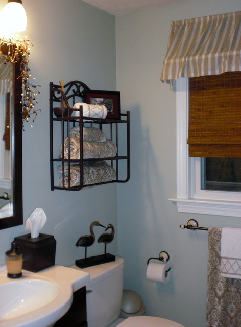 Guest Bedroom and Bath traditional