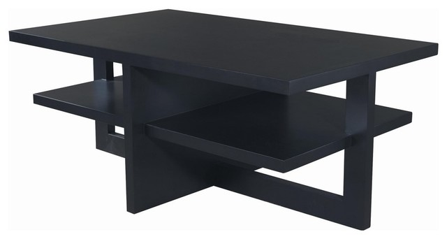 Allan Copley Designs Samantha 48x30 Rectangular Cocktail Table in Espresso modern-coffee-tables