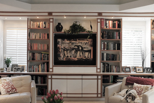 McLennan Residence eclectic-family-room