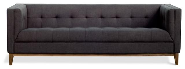 Gus Modern Atwood Sofa, Urban Tweed Ink