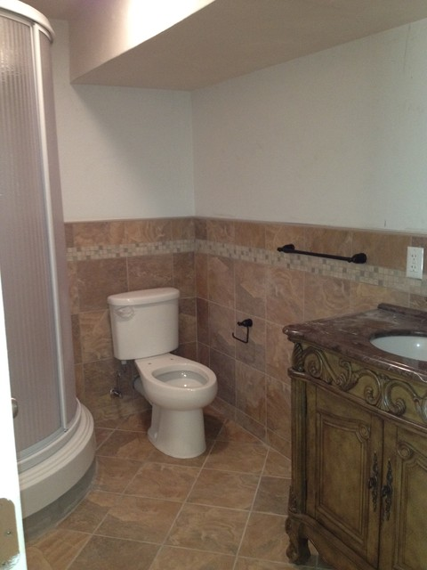 Bathroom & Tiling Project-Rehoboth - Wall And Floor Tile - providence - by Lowes of Seekonk, MA