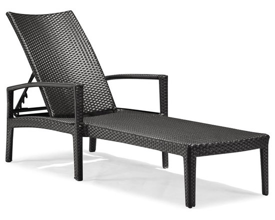 Zuo Modern - Zuo Modern Phuket Outdoor Lounge Chair X-731107 - With the Phuket Lounge, you will feel like a movie star laying in the sun on a paradise island. The Phuket lounge is the eloquent expression of style.