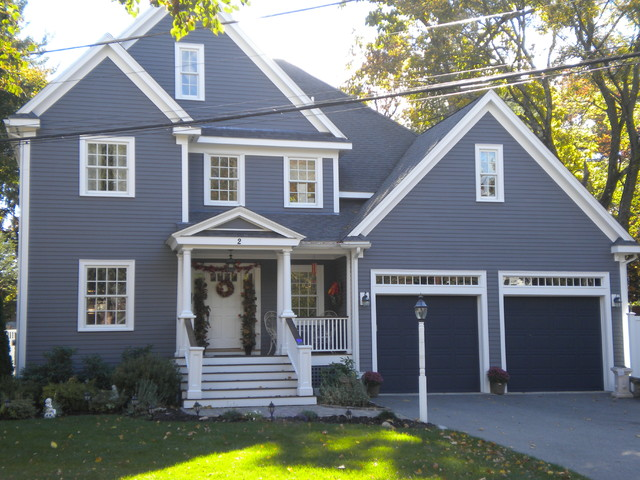 Exterior House Painting In And Around Woburn Ma Traditional Boston By Certapro Painters