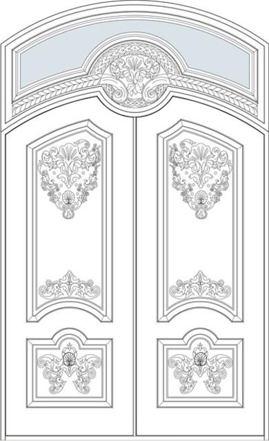 Heritage Collection (Custom Solid Wood Doors) front-doors