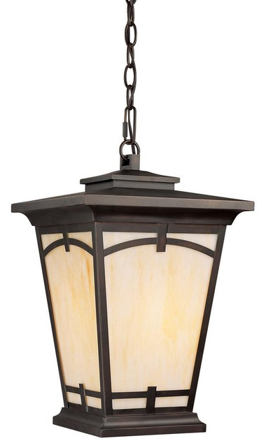 1 Light Hanging Lantern modern-outdoor-lighting