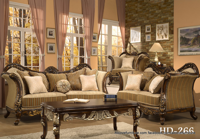 Traditional sofas and living room sets for Traditional living room sets