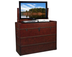 TVLIFTCABINET Antiquity TV Lift Cabinet cabinet-and-drawer-organizers