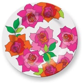 Rose Plate contemporary-dinner-plates