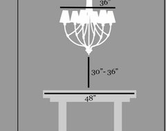Standard chandelier height over dining table home design ideas charming dining room chandelier height dining room chandelier height richardmartinus double height dining room and view aloadofball Image collections