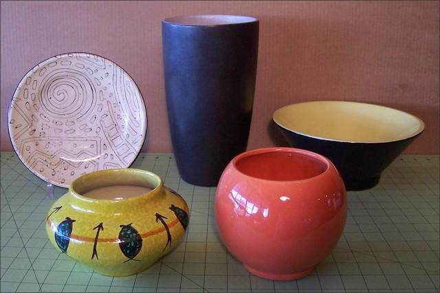 Fleur-de-Lis Flea Find ~ Modern Vases and Bowls modern-vases