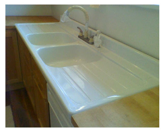 Bathtub & Tile Refinishing - Kitchen Sink Refinishing