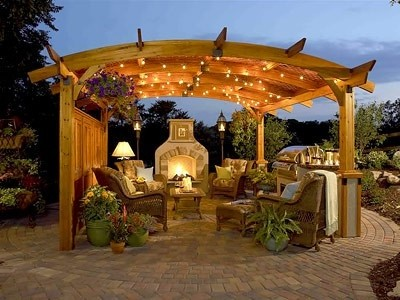 Outdoor Deck Lighting   Modern House Decorating Inspiration For ...