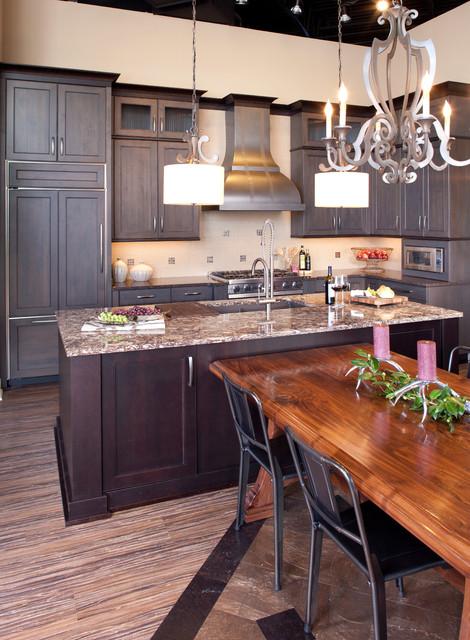 Mingle Showroom traditional-kitchen