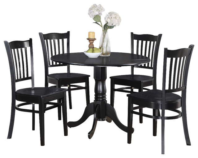 3 pc small kitchen table and chairs set round kitchen table and 2 dinette chairs traditional. Black Bedroom Furniture Sets. Home Design Ideas