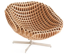 Nexus Swivel Chair contemporary-living-room-chairs