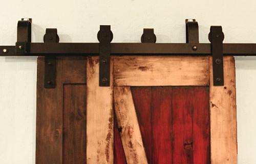 Bypass Barn Door Hardware System Modern Barn Door Hardware Salt Lake City By Rustica