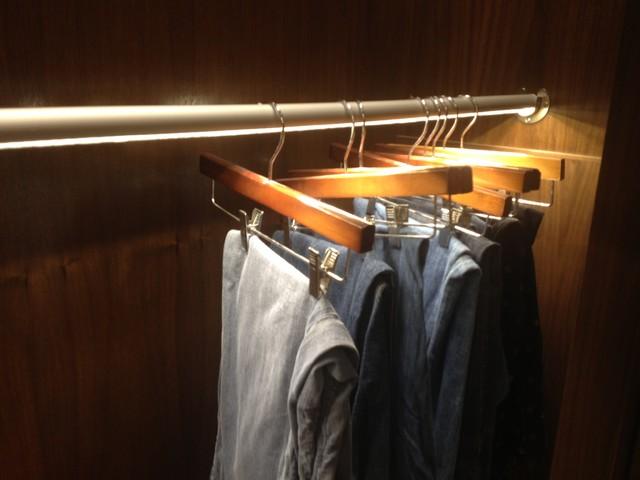 Newport Beach Residence Led Closet Rod Lighting