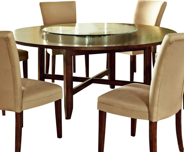 steve silver avenue 72 inch round dining table