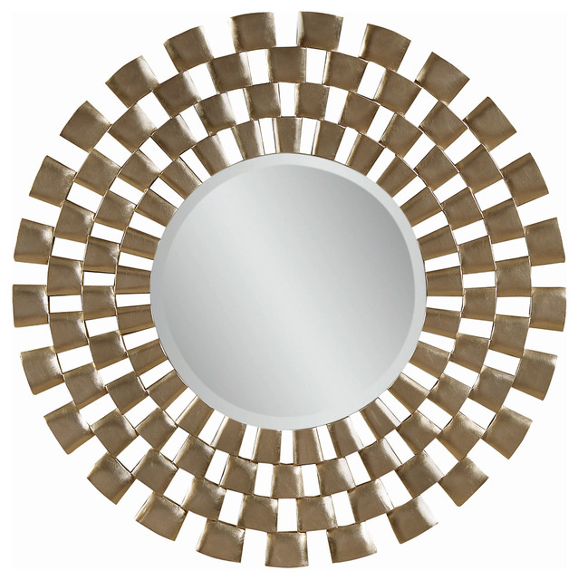 48 Inch Modern Round Wall Mirror Contemporary Mirrors