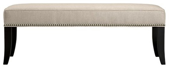 Colette Bench | Crate&Barrel traditional-indoor-benches