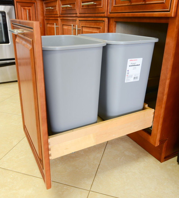 Trash Pull-Out Option kitchen-cabinetry