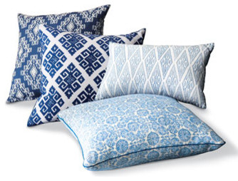 Contemporary Pillows by Neiman Marcus