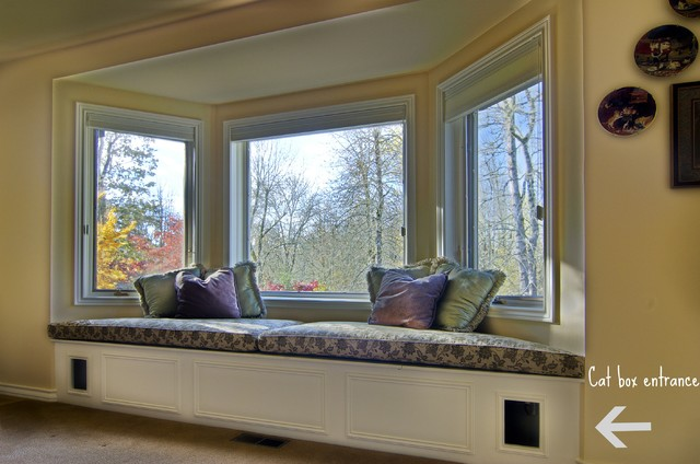 Catbox window seat contemporary