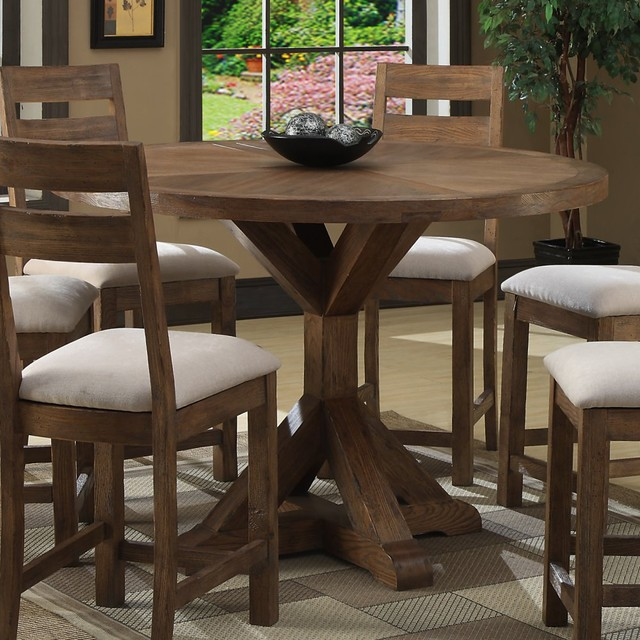 Emerald Home Bellevue Pub Table - modern - dining tables - by