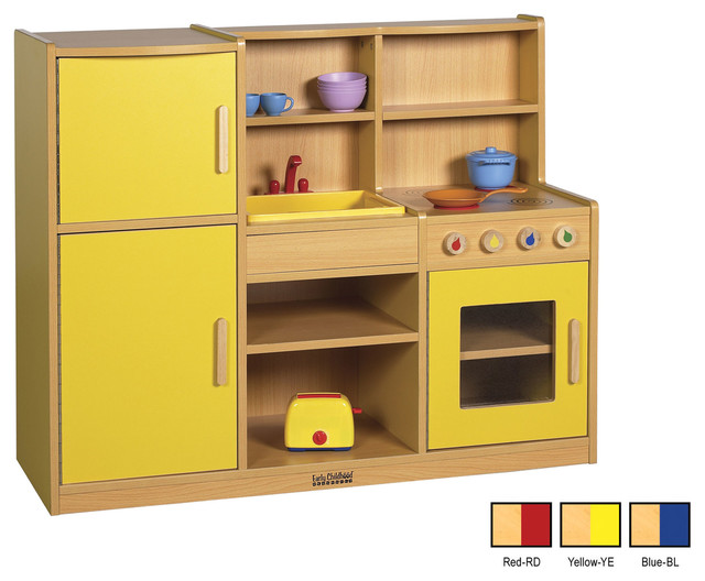 Ecr4kids colorful essentials home kids pretend play for Kitchen set game
