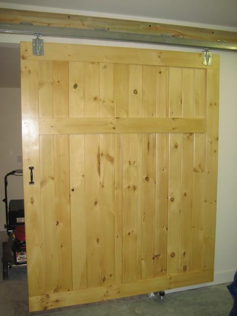 Moss Creek Barn Doors contemporary-interior-doors