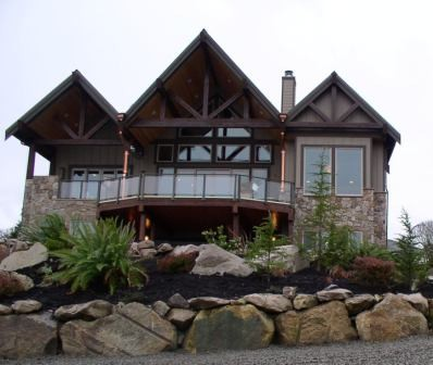 Dash Point Home traditional exterior