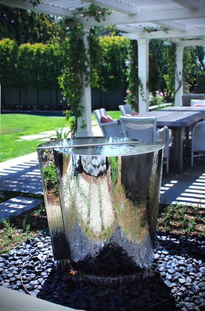 Saltair eclectic outdoor fountains