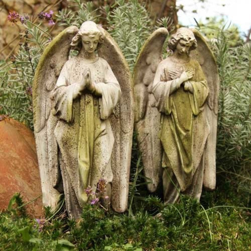 Praying angel garden statues traditional garden statues and yard art other metro by - Angel statue for garden ...