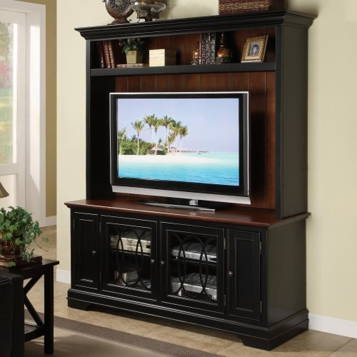 Riverside Annelli 60 in. Console with Hutch traditional-media-storage