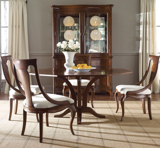 american drew cherry grove ng 6 piece dining room set in