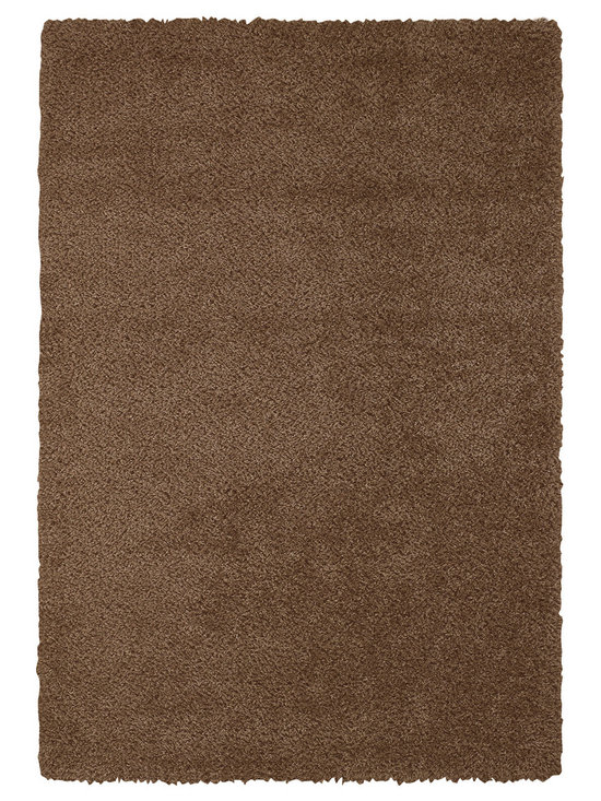 Chill Out rug in Chocolate - Austin Powers has nothing on us.  Our Chill Out shag is fashion for the floor with trend setting style in an on-trend color palette.