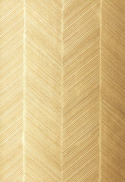 chevron texture wallpaper white gold transitional