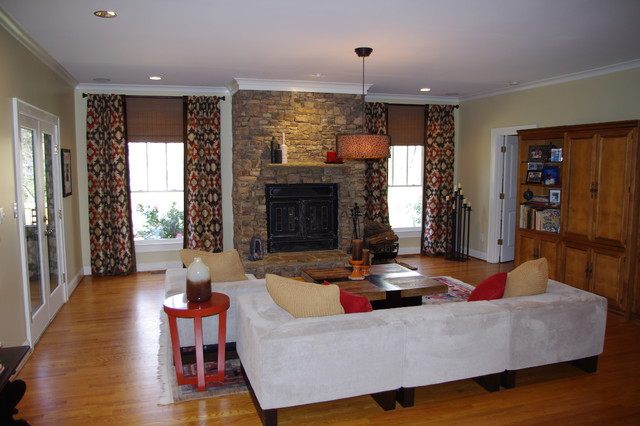 Residential Living Room eclectic-living-room