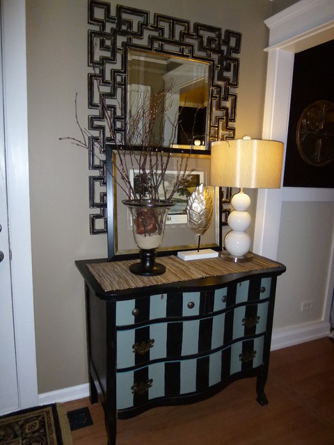 Contemporary Foyer Chest : Entryway chest