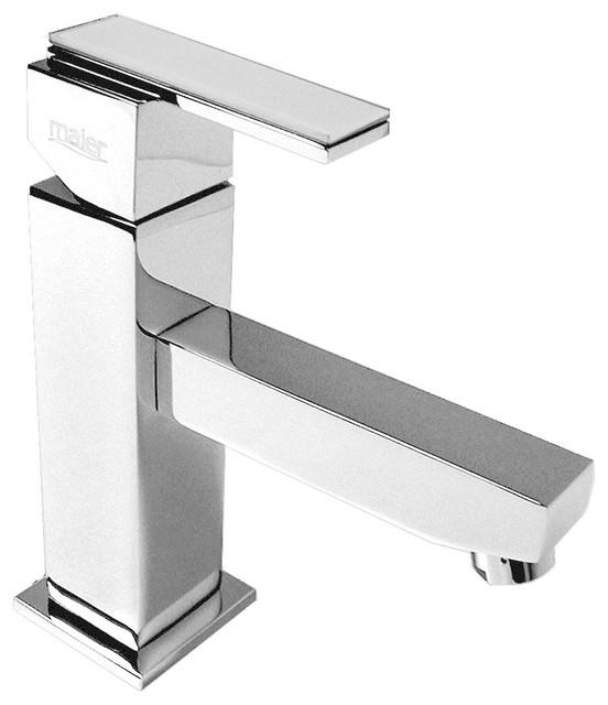 Kromatic Kuadrat Bathroom Faucet modern-bathroom-faucets