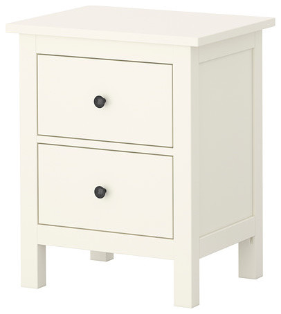 Ikea hemnes chest with 2 drawers in white for Ikea accent cabinet