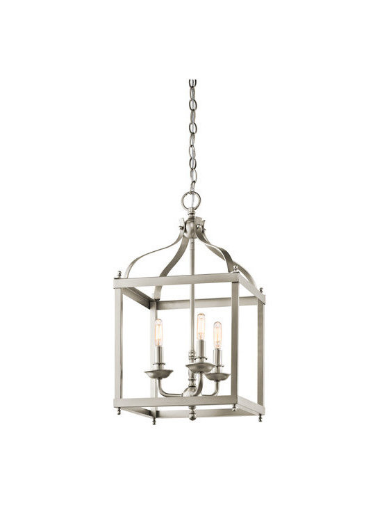Kichler - Kichler 42566NI Larkin 3-Bulb Indoor Pendant - Product Features: