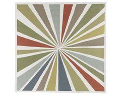 Lourdes Sánchez Bulls-Eye Rug contemporary rugs