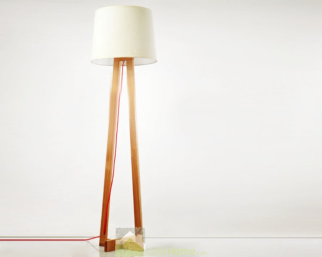 Decorative Bedside Lights Floor Lamps White - Modern - Floor Lamps - other metro - by Jollyhome